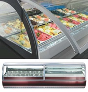 DELUX CURVED GELATERIA