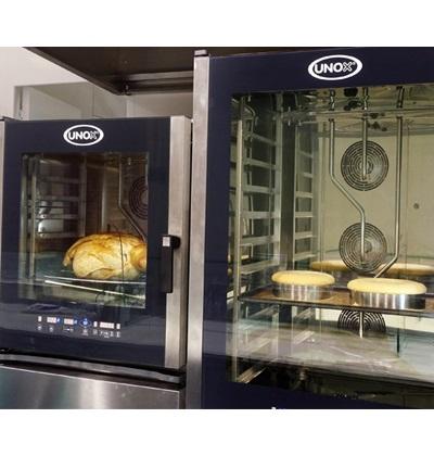 ΒΑΡΑΝΑΚΗΣ επαγγελματικός εξοπλισμός ζαχαροπλαστείου - Επαγγελματικοί φούρνοι αρτοποιίας ζαχαροπλαστικής convection, Ψήσιμο προϊόντων στην έκθεση HORECA