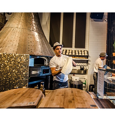 Φούρνοι πίτσας χτιστοί παραδοσιακοί με ξύλα, αερίου και μικτοί MORELLO FORNI