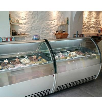 Επαγγελματικά μηχανήματα παγωτού-παγωτομηχανές, επαγγελματικές βιτρίνες παγωτού & ζαχαροπλαστικής