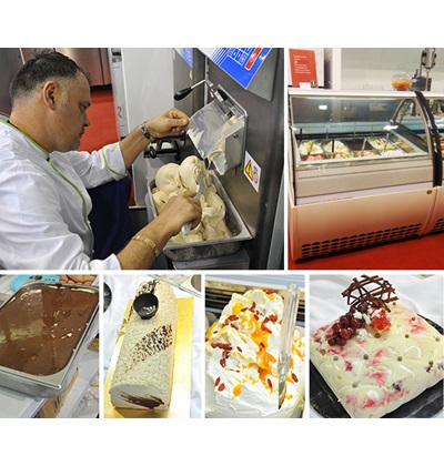 Professional ice-cream machines, batch freezers, ice-cream showcases - ARTOZA exhibition
