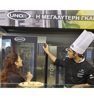 ΒΑΡΑΝΑΚΗΣ επαγγελματικοί φούρνοι UNOX ΕΛΛΑΔΑ